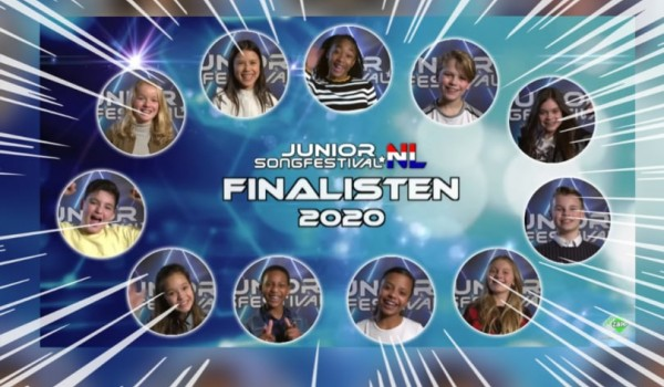 The Netherlands: Junior Songfestival 2020 finalists unveiled