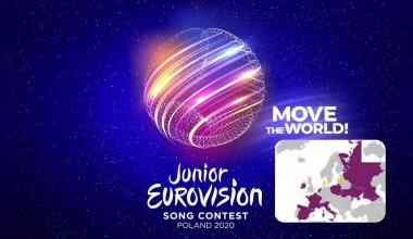 Junior Eurovision 2020: The map of confirmed participating countries