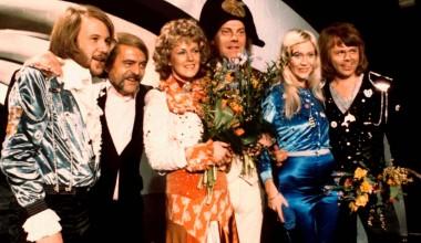#EurovisionAgain: ABBA triumph in the voting for Eurovision 1974