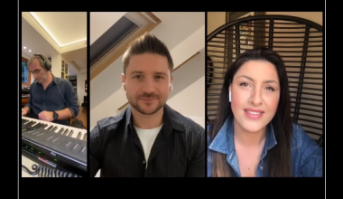 """Listen to Helena Paparizou and Sergey Lazarev sing unplugged """"Υοu Are The Only One"""""""
