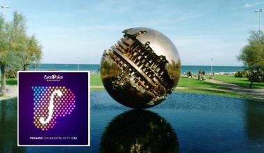 Eurovision 2022: Pesaro presents its ESC 2022 bid logo